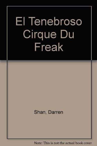 9781400002627: El tenebroso cirque du freak (Spanish Edition)