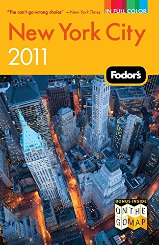 9781400004584: Fodor's New York City 2011 (Full-color Travel Guide)