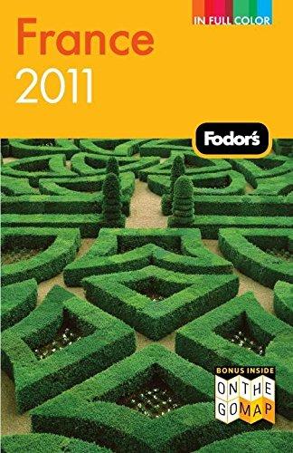 9781400004737: Fodor's France 2011 (Full-color Travel Guide)