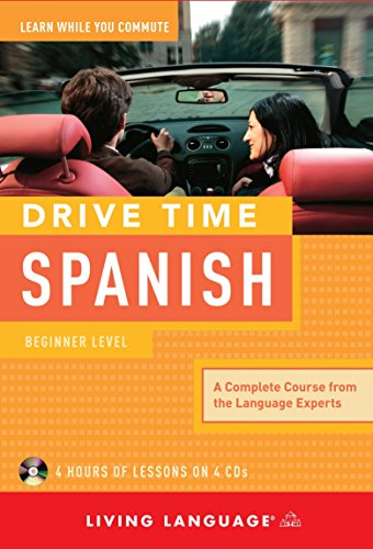9781400006007: Drive Time Spanish: Beginner Level