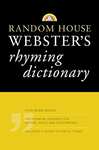 Random House Webster's Rhyming Dictionary (9781400007165) by Random House