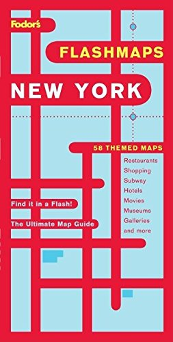 9781400007646: Fodor's Flashmaps New York City, 9th Edition: The Ultimate Map Guide/Find it in a Flash (Full-color Travel Guide)
