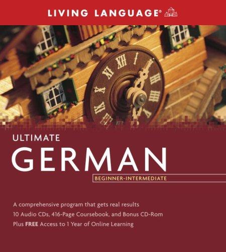 9781400009640: Ultimate German Beginner-Intermediate (Pkg)