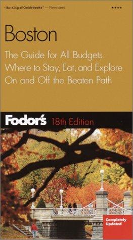 9781400010288: Fodor's Boston 18th ed.