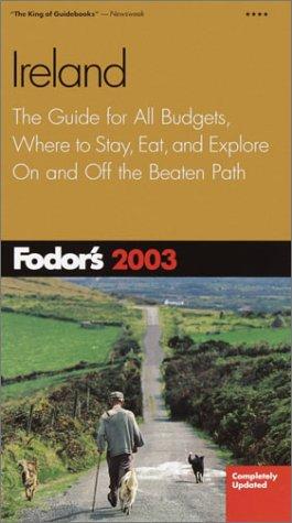9781400010721: Fodor's Ireland 2003