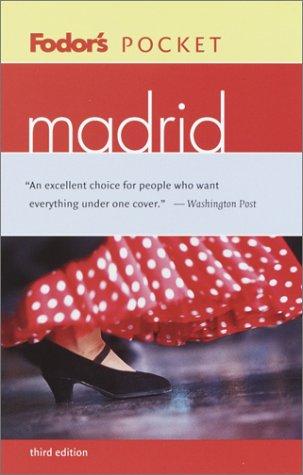 9781400011025: Fodor's Pocket Madrid, 3rd edition (Travel Guide)