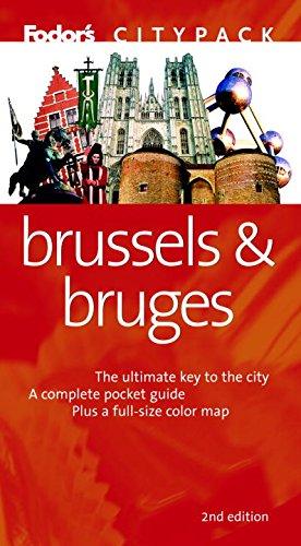 Fodor's Citypack Brussels & Bruges, 2nd edition (Citypacks): Fodor's