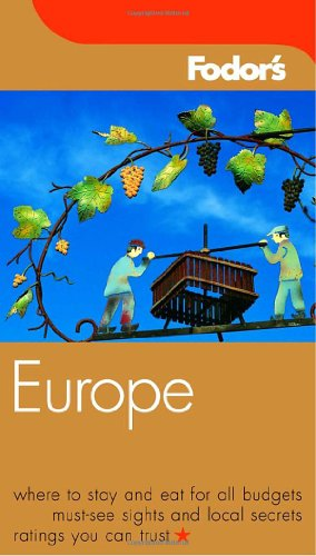 9781400012756: Fodor's Europe, 59th Edition (Travel Guide)