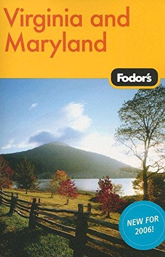 9781400014385: Fodor's Virginia and Maryland, 8th Edition (Travel Guide)