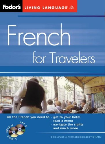 9781400014873: Fodor's French for Travelers (CD Package), 2nd Edition (Fodor's Languages for Travelers)