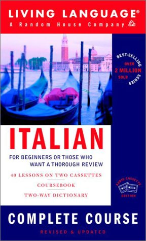 9781400020140: Italian Complete Course: Basic-Intermediate (LL(R) Complete Basic Courses)