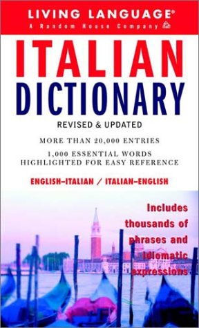 Italian Dictionary (Complete Basic Courses)
