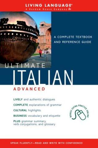 9781400020645: Ultimate Italian Advanced (Book) (Ultimate Advanced)