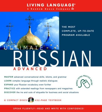 9781400020720: Ultimate Russian: Advanced Course: Advanced CD/Manual (Living Language)