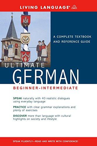 9781400021062: Ultimate German Beginner-Intermediate (Coursebook) (Ultimate Beginner-Intermediate)