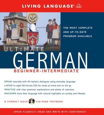 9781400021079: Ultimate German Beginner-Intermediate (CD/Book) (Ultimate Beginner-Intermediate)