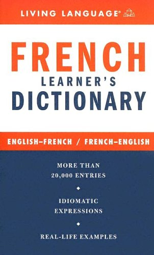 9781400021345: French Learner's Dictionary