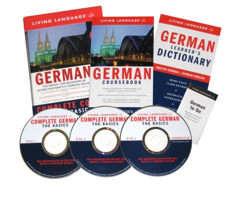 9781400021406: German: The Basics Complete Course (Living Language)