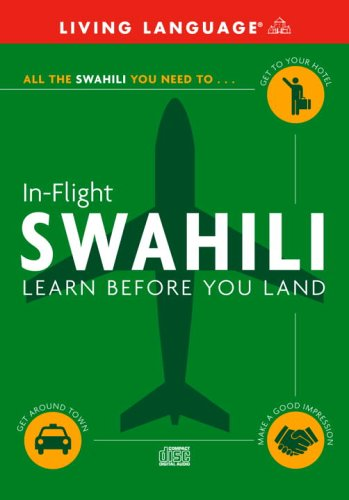 9781400022953: Swahili - In-Flight: Learn Before You Land (In Flight S.)