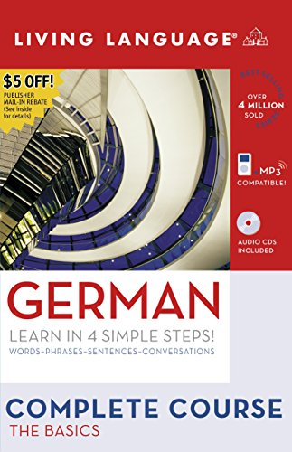 9781400024124: German: The Basics (Living Language Complete Course)