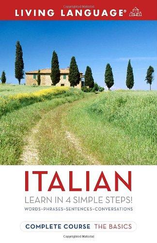 9781400024155: Complete Italian: The Basics (Living Language Complete Courses)