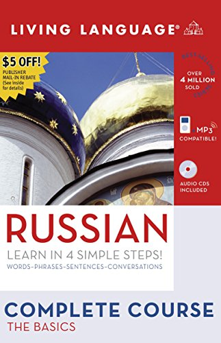 9781400024223: Complete Russian: The Basics (Book and CD Set): Includes Coursebook, 4 Audio CDs, and Learner's Dictionary (Complete Basic Courses)