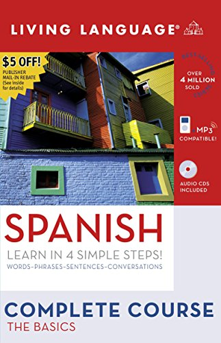 9781400024247: Spanish: The Basics (Living Language Complete Course)