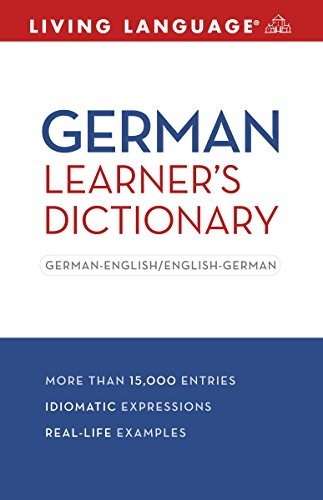 9781400024452: German Learner's Dictionary