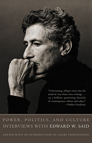 9781400030668: Power, Politics, and Culture: Interviews with Edward W. Said