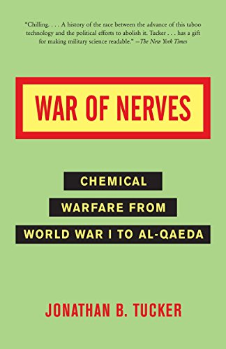 9781400032334: War of Nerves: Chemical Warfare from World War I to Al-Qaeda