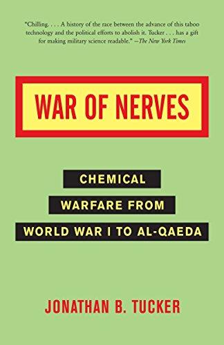 9781400032334: War of Nerves: Chemical Warfare from World War I to Al-Qaeda