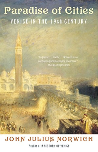 9781400032372: Paradise of Cities: Venice in the Nineteenth Century