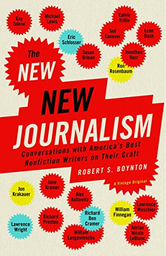 9781400033560: The New New Journalism: Conversations with America's Best Nonfiction Writers on Their Craft