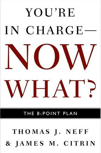 9781400048656: You're in Charge--Now What?: The 8 Point Plan