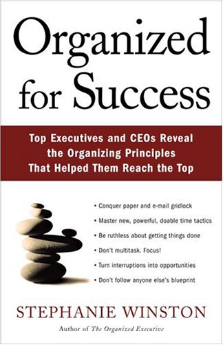 9781400049790: Organized For Success