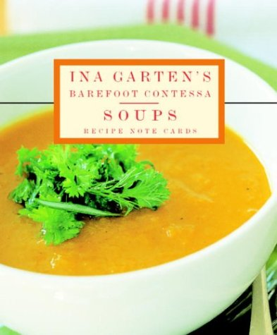 9781400049899: Ina Garten's Barefoot Contessa Soup Recipes Signature Vertical Note Cards (Potter Style)