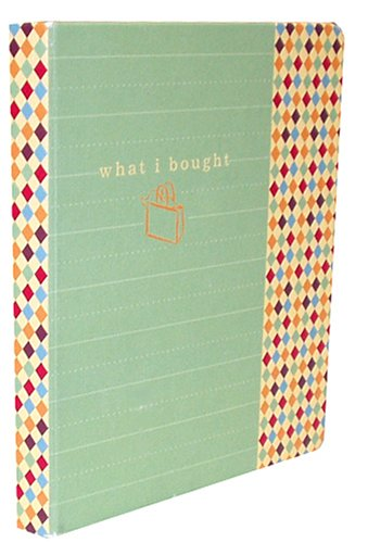 9781400049974: What I Bought Mini Journal (Potter Style)