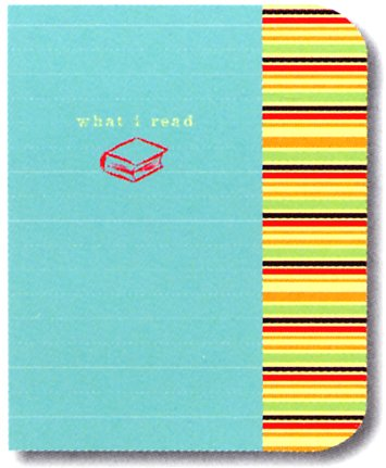 9781400049981: What I Read Journal