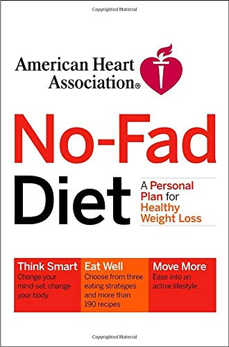 9781400051595: American Heart Association No-Fad Diet: A Personal Plan for Healthy Weight Loss