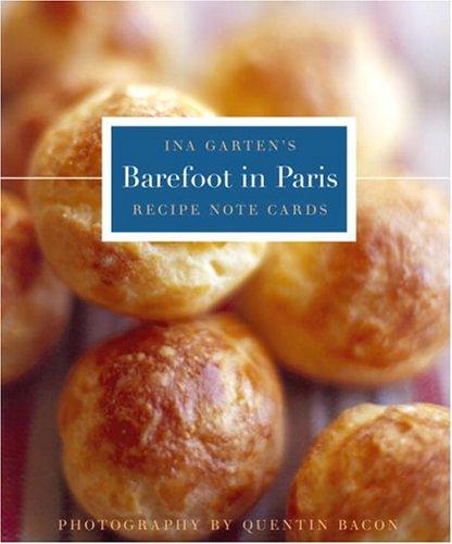 9781400053865: Barefoot in Paris Tri-Fold Recipe Note Cards