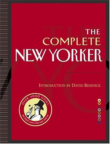 9781400064748: The Complete New Yorker: Eighty Years of the Nation's Greatest Magazine (Book & 8 DVD-ROMs)