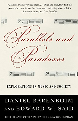 9781400075157: Parallels and Paradoxes: Explorations in Music and Society