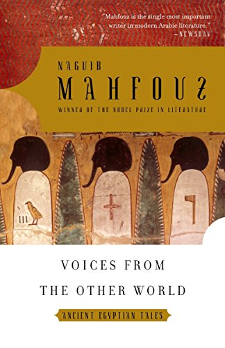 9781400076666: Voices from the Other World: Ancient Egyptian Tales