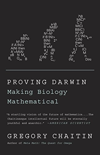 9781400077984: Proving Darwin: Making Biology Mathematical