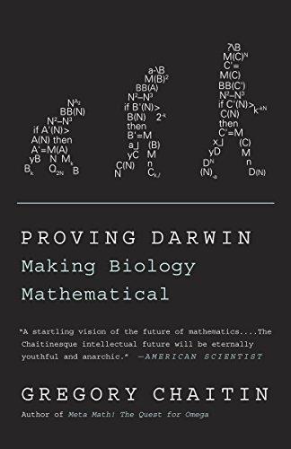 9781400077984: Proving Darwin: Making Biology Mathematical