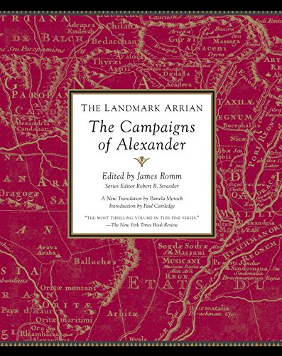 9781400079674: The Landmark Arrian: The Campaigns of Alexander