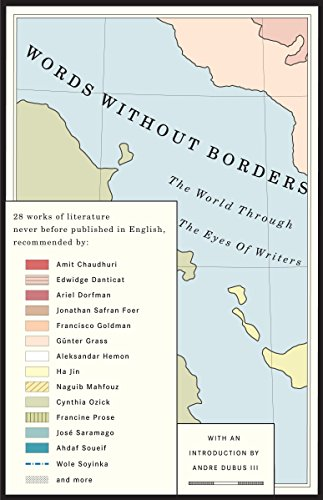 9781400079759: Words Without Borders: The World Through the Eyes of Writers: An Anthology