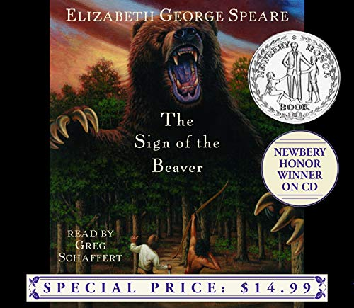 9781400084975: The Sign of the Beaver (Newbery Winner on CD)