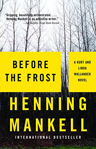 9781400095810: Before the Frost (Vintage Crime/Black Lizard)