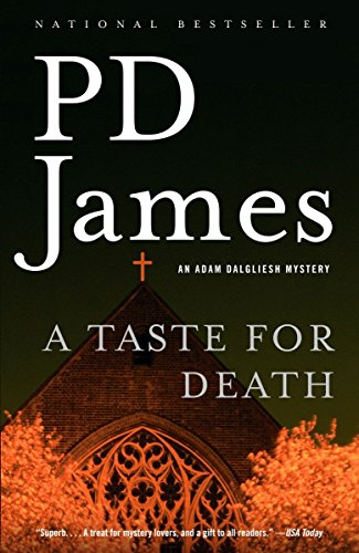 9781400096473: A Taste for Death (Adam Dalgliesh Mysteries, No. 7)